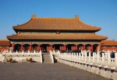 Palácio proibido Beijing da cidade Imagens de Stock