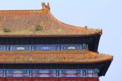 Palácio proibido Beijing da cidade Imagem de Stock Royalty Free