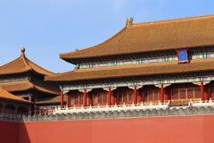 Palácio proibido Beijing da cidade Fotos de Stock