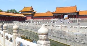 Palácio proibido em Beijing Imagens de Stock Royalty Free