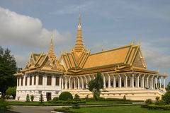 Palácio real Fotografia de Stock