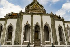Palácio real Banguecoque Tailândia Foto de Stock Royalty Free