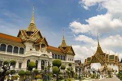 Palácio real Banguecoque Tailândia Fotos de Stock Royalty Free