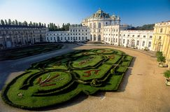 Palácio real da caça imagem de stock