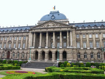 Palácio real de Bruxelas Imagens de Stock Royalty Free