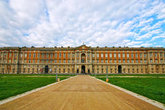 Palácio real de Caserta em Itália Foto de Stock