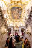 Palácio real de Madrid Foto de Stock Royalty Free