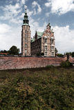 Palácio real do castelo de Rosenborg em Copenhaga Dinamarca foto de stock royalty free