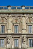 Palácio real em Éstocolmo imagem de stock