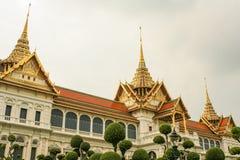 Palácio real em Banguecoque Fotos de Stock Royalty Free