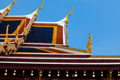 Palácio real em Banguecoque Fotografia de Stock Royalty Free