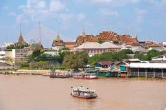 Palácio real em Banguecoque Tailândia Imagens de Stock Royalty Free