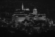 Palácio real em Budapest foto de stock royalty free