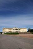 Palácio real em Oslo Foto de Stock Royalty Free