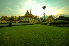 Palácio real Phnom Penh de Camboja Foto de Stock