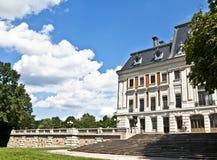 Palácio romântico, Pszczyna Poland Fotografia de Stock