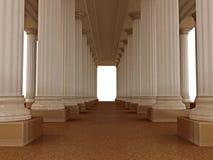 Palácio romano velho Imagem de Stock