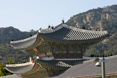 Palácio Seoul de Gyeongbok Imagem de Stock Royalty Free