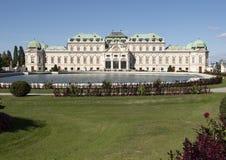 Palácio superior do Belvedere em Viena, Áustria fotografia de stock royalty free