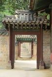 Palácio tradicional coreano Fotografia de Stock