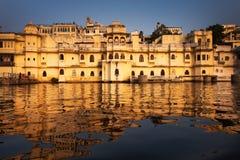 Palácio Udaipur da cidade Fotografia de Stock Royalty Free