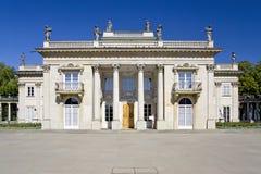 Palácio-Varsóvia clássica. Imagem de Stock