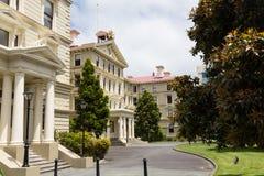Palácio velho da pedra de construções do governo Foto de Stock