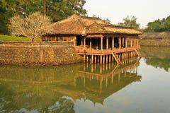 Palácio velho em Vietnam Imagem de Stock Royalty Free