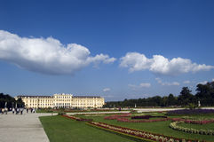 Palácio Viena de Schönbrunn Imagem de Stock Royalty Free