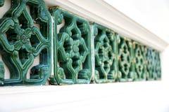 Palácios do wat da incisão no templo Banguecoque Ásia Fotografia de Stock Royalty Free
