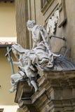 Palácios e esculturas Fotos de Stock