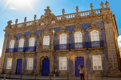 Palá cio doet Raio royalty-vrije stock afbeelding