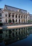 Palácio antigo em BUcuresti - Romênia imagem de stock