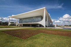 Palácio do Planalto - Brasília - DF - Brazil Royalty Free Stock Photography