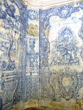 Palà ¡ cio的Nacional在小山的de辛特拉铺磁砖的室,在里斯本上,葡萄牙 库存图片