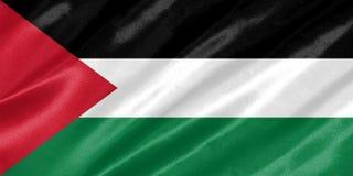 Palästina-Flagge lizenzfreie abbildung