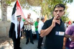 Palästinensische Eigenstaatlichkeit-Demonstration Lizenzfreie Stockfotos