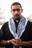 Palästinensischer christlicher Priester lizenzfreie stockbilder