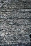 paląca tekstury drewniany mur obrazy stock