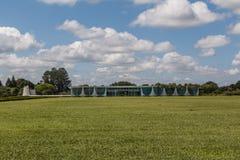 Palácio da Alvorada - Brasília - DF - Brazil Royalty Free Stock Photo
