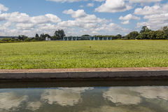 Palácio da Alvorada - Brasília - DF - Brazil Stock Images
