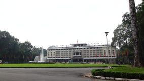 Pal?cio da independ?ncia em Ho Chi Minh City em Viet Nam video estoque