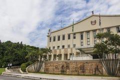 Palácio dos Bandeirantes - São Paulo - Brazil Stock Photography
