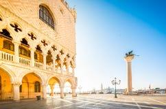 Pal?cio dos doges, Veneza, It?lia foto de stock royalty free