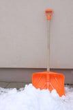Pala de la nieve Fotos de archivo libres de regalías