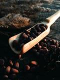 Pala de madera que cocina artesanía en madera Imagenes de archivo