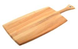 Pala del pane isolata su bianco Fotografie Stock Libere da Diritti