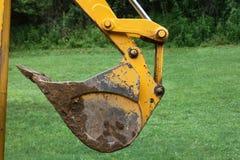 Pala dell'escavatore a cucchiaia rovescia Fotografia Stock