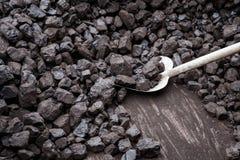 Pala e carbone Fotografia Stock