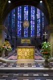 pala för oro för guld för aachen altaredomkyrka D Royaltyfri Fotografi